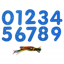 CE-6916 - Ready2learn Lacing Numbers 0-9 in Lacing