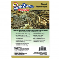 CE-6942 - Natural Assortments: Wood in Hands-on Activities