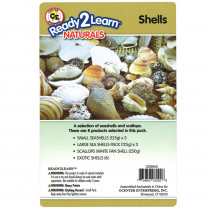 CE-6943 - Natural Assortments: Shells in Hands-on Activities