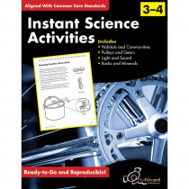 CHK13009 - Science Activities Gr 3-4 in Activity Books & Kits