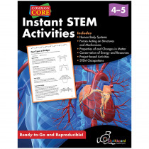 CHK13055 - Instant Stem Activities Gr 4-5 in Activity Books & Kits