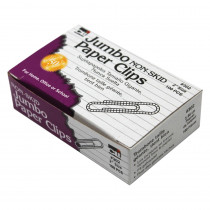 CHL302 - Standard Paper Clips Jumbo 10 Pk Non Skid in Clips