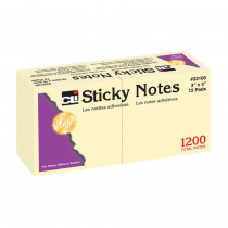 CHL33100 - Sticky Notes 3X3 Plain in Post It & Self-stick Notes