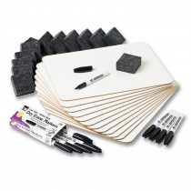 CHL35040 - Dry Erase Boards Magnetic Lapboard Class Pack Plain/Plain in Dry Erase Boards