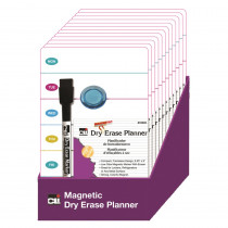 CHL35606ST - Mini Magnetic Planning Board 12/St Dry Erase in Dry Erase Boards