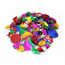 CHL40425 - Glittering Sequins W Spangles 4Oz Resealable Bag in Art & Craft Kits
