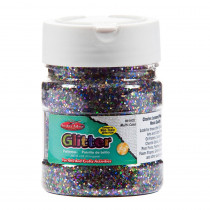 CHL41400 - Creative Arts Glitter 4Oz Multi Clr in Glitter