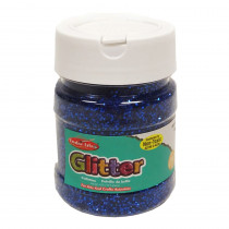CHL41415 - Creative Arts Glitter 4Oz Jar Blue in Glitter