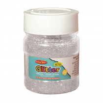 CHL41445 - Creative Arts Glitter 4Oz Jar Slvr in Glitter