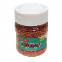CHL41465 - Creative Arts Glitter 4Oz Jar Orng in Glitter