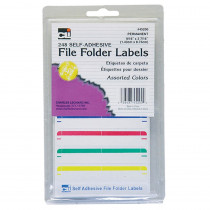 CHL45200 - File Folder Labels Assorted in Mailroom
