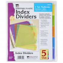 CHL48500ST - 5 Tab Index Dividers  24/Pdq in Dividers