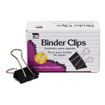 CHL50001 - Binder Clips Mini 12Ct 1/4In Capacity in Clips