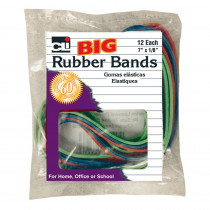 CHL56317 - Big Rubber Bands 7X1/8In 12Pk in Mailroom