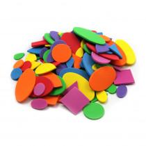 CHL70526 - Foam Shapes Asst Colors 264 Pcs in Foam