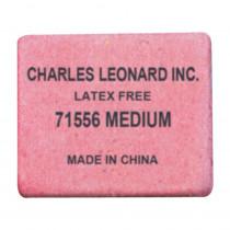 Pencil Eraser - Synthetic - Latex Free - Block Shape - Medium - 60/box - CHL71556 | Charles Leonard | Erasers