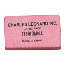 Pencil Eraser - Synthetic - Latex Free - Block Shape - Small - 80/box - CHL71558 | Charles Leonard | Erasers