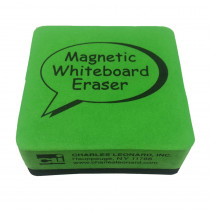 CHL74542 - 2X2 Lime Magnetic Whiteboard Eraser in Whiteboard Accessories