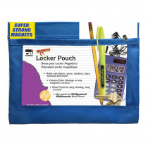 CHL76390 - Blue Magnetic Whiteboard Pouch in Organizer Pockets