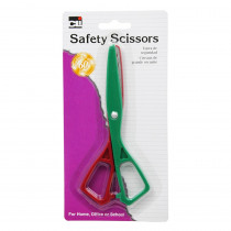 CHL80512 - Scissors Safety Plastic 5 1/2In Asst Colors in Scissors