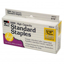 CHL84516 - High Capacity Standard Staples 5000 Per Box in Staplers & Accessories