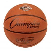 CHSBX7 - Official Size 7 Rubber Basketball W/ Bladder & Ultra Grip in Balls