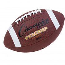 CHSCF200 - Intermediate Size Pro Comp Football 2 Ply Bladder Tacky in Balls