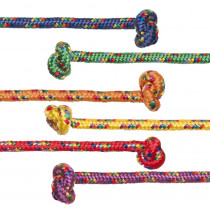 CHSCR8SET - 8Ft Asst Braided Nylon 6/Set Jump Ropes in Jump Ropes