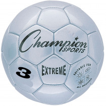 CHSEX3SL - Soccer Ball Size3 Composite Silver in Balls