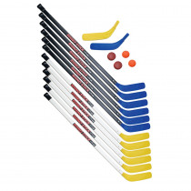 CHSHS43SET - Hockey Set Senior Abs Plastic 12 Sticks in Outdoor Games