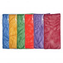 CHSMB22SET - 6 Set Asst Color Mesh Equipment Bag in Bags