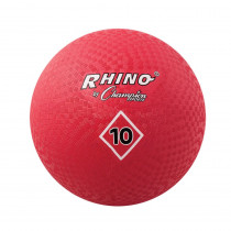 CHSPG10RD - Playground Balls Inflates To 10In in Balls