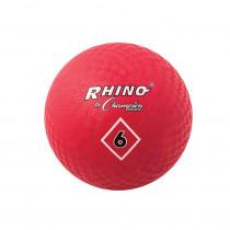 CHSPG6RD - Playground Balls Inflates To 6In in Balls