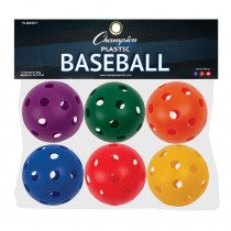 CHSPLBBSET - Plastic Balls Baseball Size 6 Set in Balls
