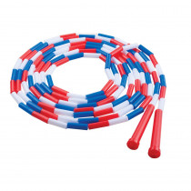 CHSPR16 - Plastic Segmented Ropes 16Ft Red White & Blue in Jump Ropes