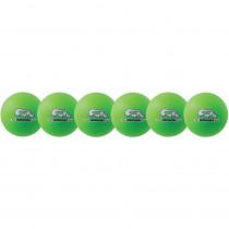 CHSRXD6NGSET - Dodgeball Set/6 Rhino Skin Green in Outdoor Games