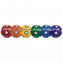 CHSSRB4SET - Soccer Ball Set/6 Rubber Size 4 in Balls