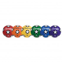 CHSSRB5SET - Soccer Ball Set/6 Rubber Size 5 in Balls