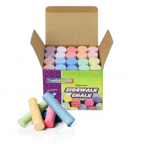 CK-1700 - Sidewalk Chalk 20 Pieces in Chalk
