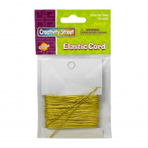 CK-3566 - Gold Elastic Cord 10 Yds in Cord