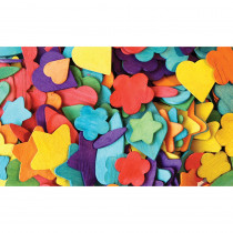 CK-3604 - Party Shapes in Wooden Shapes