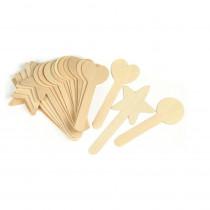 CK-3629 - Large Geometric Shapes 18Pcs Craft Sticks in Craft Sticks
