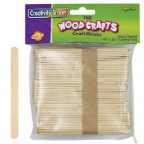 CK-367501 - Craft Sticks Natural Color 150/Pk in Craft Sticks
