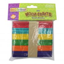 CK-367502 - Craft Sticks Assorted Colors in Craft Sticks