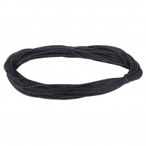 CK-3779 - Black Leather Cord in Cord