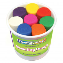 CK-4095 - Modeling Dough 8 Colors in Dough & Dough Tools