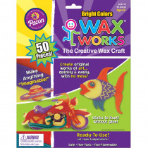 CK-4112 - Bright Hues 50 Pc Asst in Wax