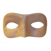 CK-4193 - Paper Mache Mask Half in Paper Mache