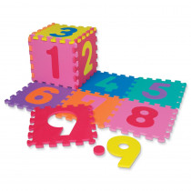 CK-4382 - Wonderfoam Number Puzzle Mat in Foam