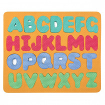 CK-4419 - Wonderfoam Magnetic Capital Letters Puzzle Set in Alphabet Puzzles